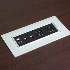 Power and Data Port for PL Conference Tables