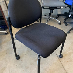 Commercial Guest Chair W/casters