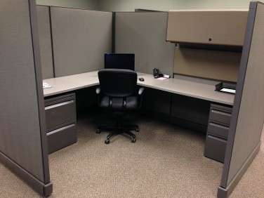 Used Herman Miller AO2 cubicles