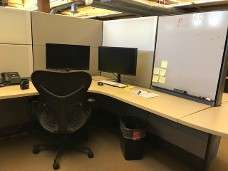Used Herman Miller Ethospace radial cubicle