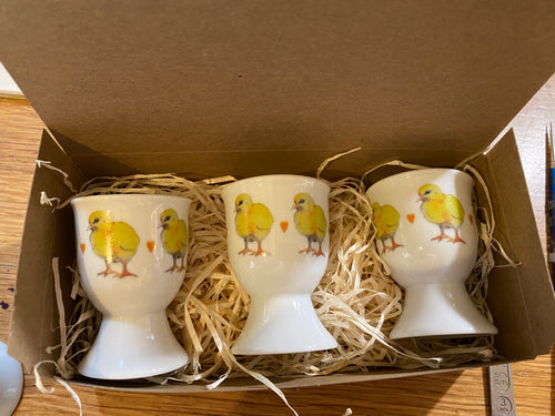 Egg Cups - Chicks