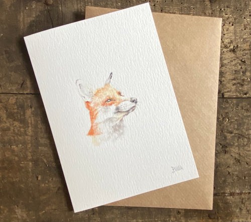 Greetings card - Fox