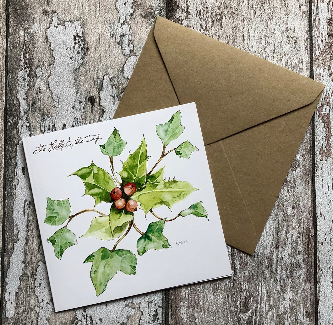 Greeting Card - Holly & the Ivy