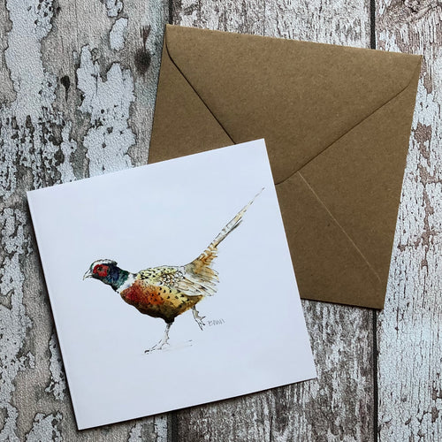 Greeting Card - Glen Esk Phessie