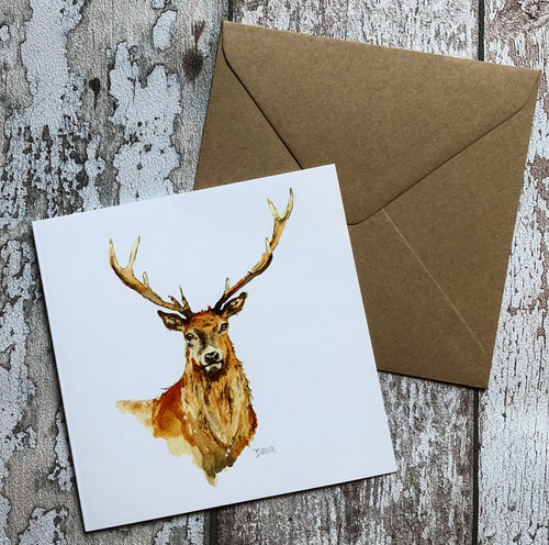 Greeting Card - Ten Pointer