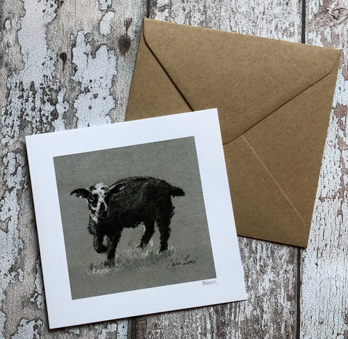 Greeting Card - Wee Lamb