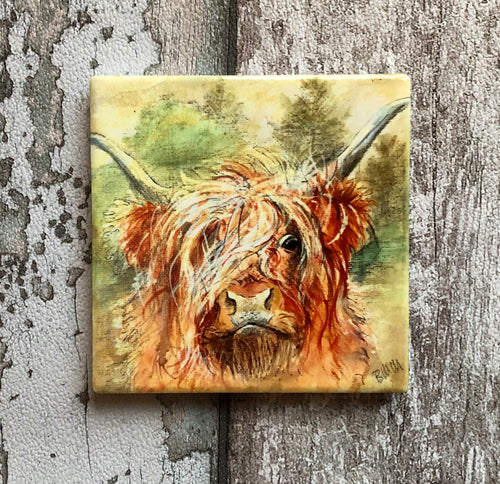 Ceramic Coaster - Hamish