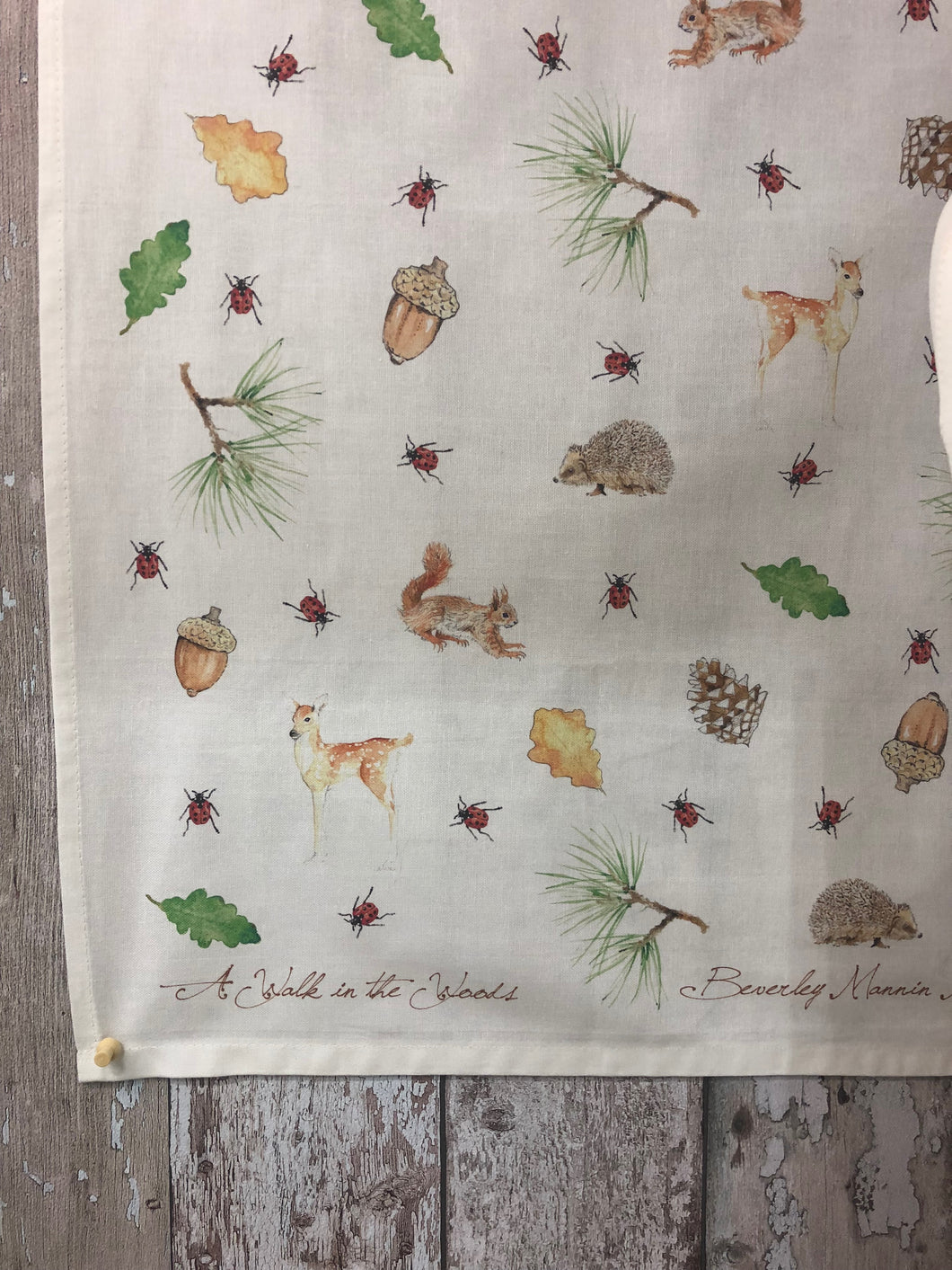 Tea Towel - A Walk in the Woods
