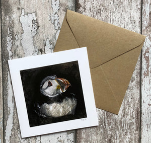 Greeting Card - Nesting Puffin