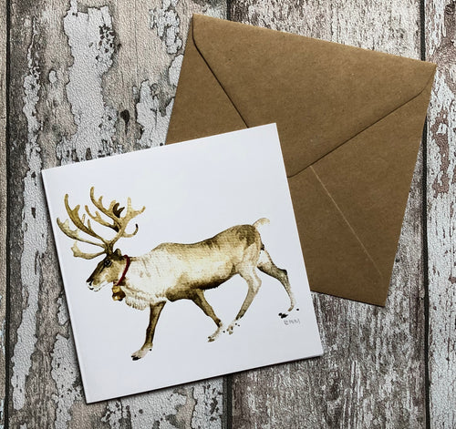 Greeting Card - Reindeer