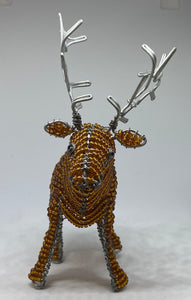 Beaded Highland Stag - Hand crafted