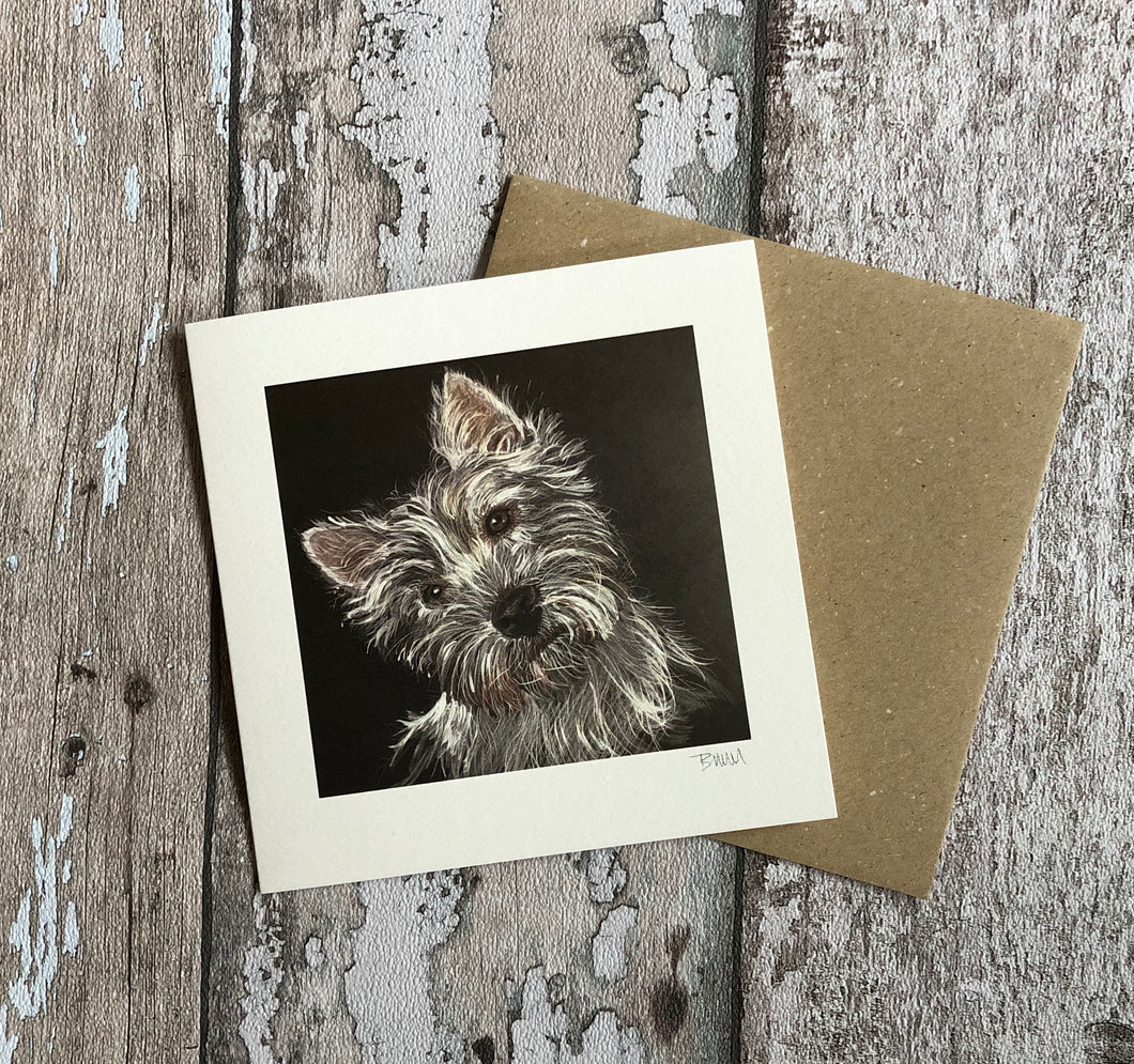 Greeting Card - Mattie