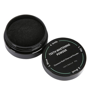 Coconut Shell Charcoal Teeth Whitening Powder