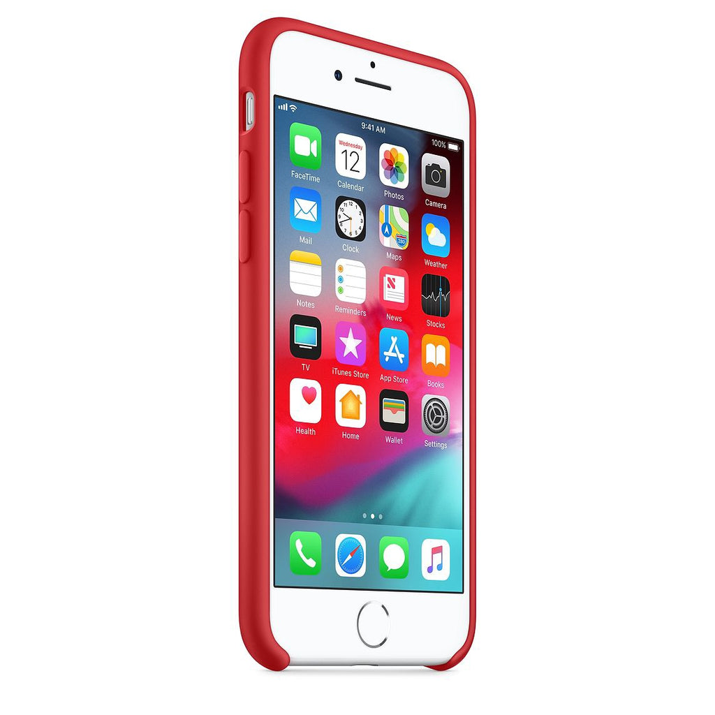 80438a7f989 Iphone 8/7 Silicone Case - Red – CASEFLIX