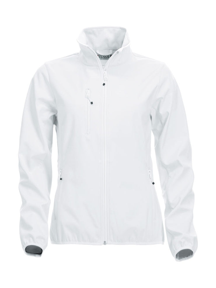 Clique Basic Softshell Jacket Ladies art. 020915 White