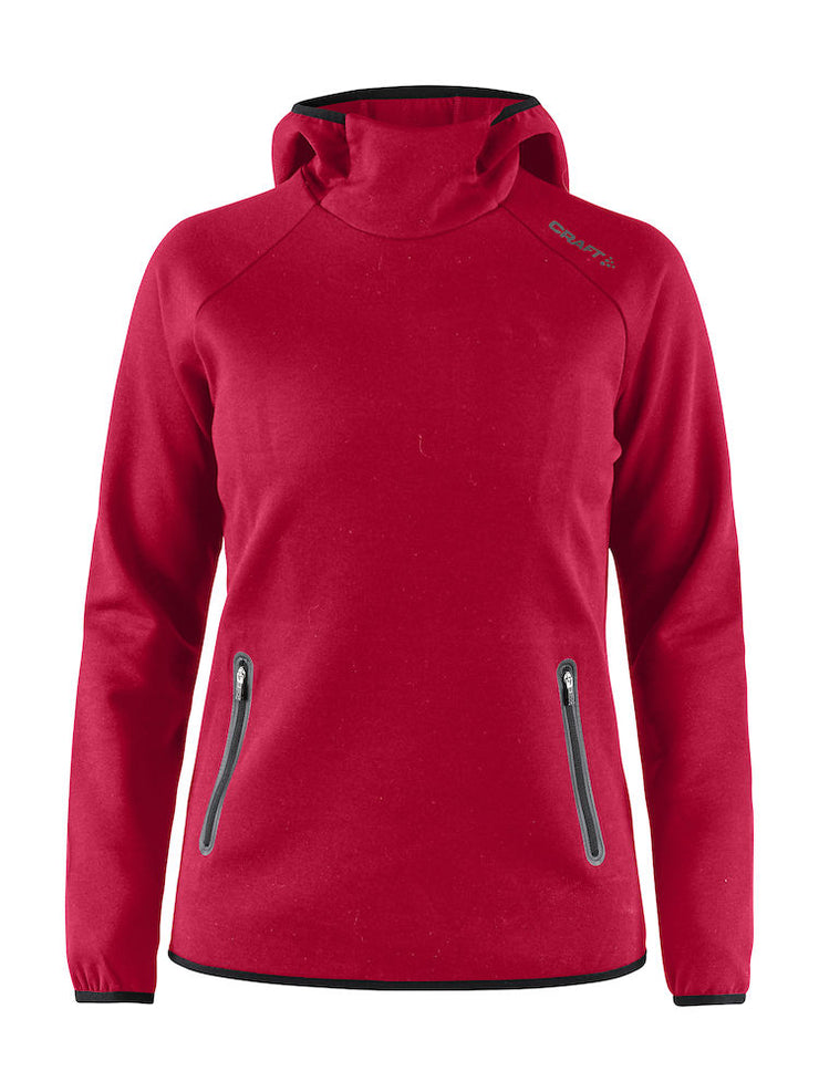 Emotion Hood Sweatshirt W Bright Red art.1905787