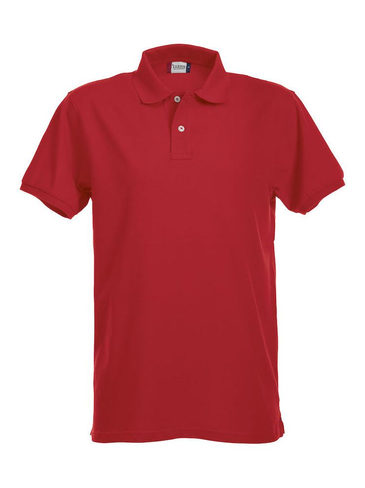 Clique Stretch Premium Polo art. 028240 Red