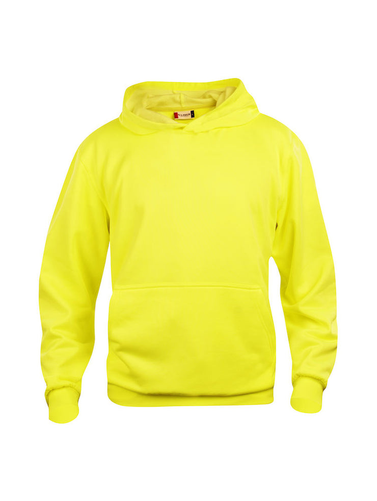 Clique Basic Hoody JR art. 021021 Visibility Yellow