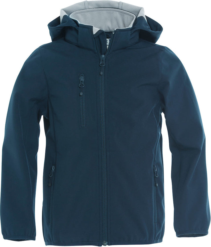 Clique Basic Softshell Jacket Junior art. 020909 Dark Navy