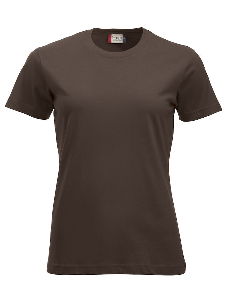 Clique New Classic-T Ladies art. 029361 Dark Mocca