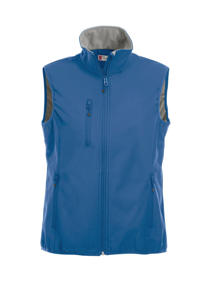 Clique Basic Softshell Vest Ladies art. 020916 Royal Blue