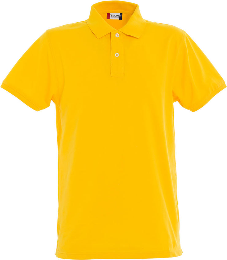 Stretch Premium Polo art. 028240 Lemon