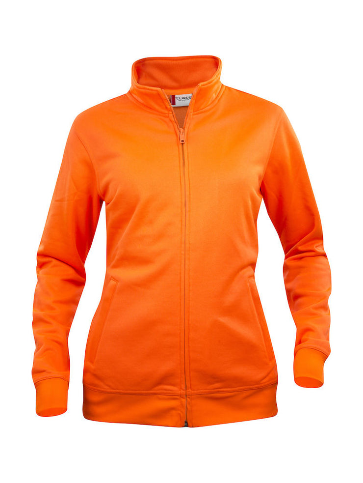 Clique Basic Cardigan Ladies art. 021039 Visibility Orange