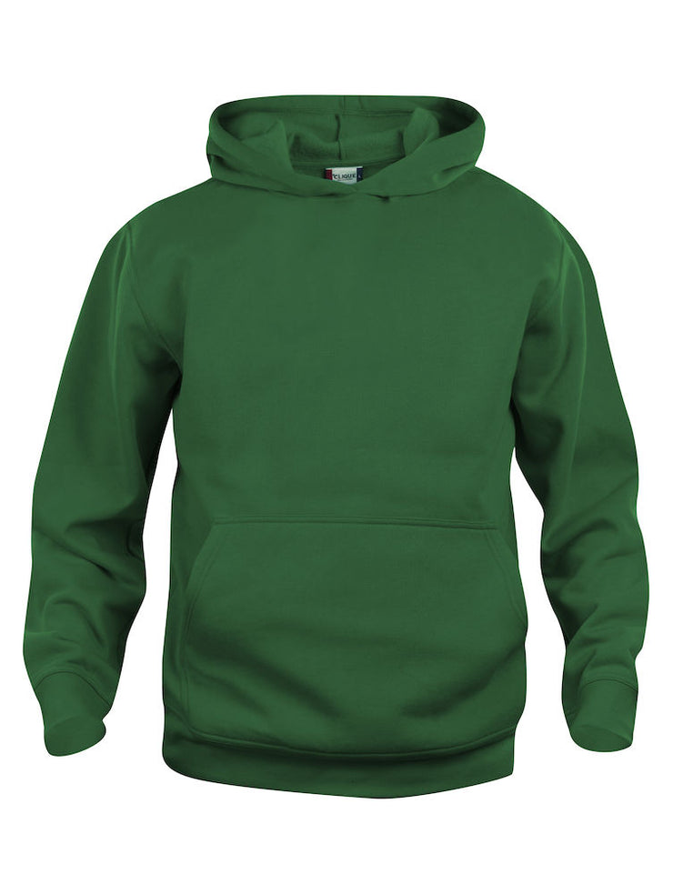 Clique Basic Hoody JR art. 021021 Bottle Green