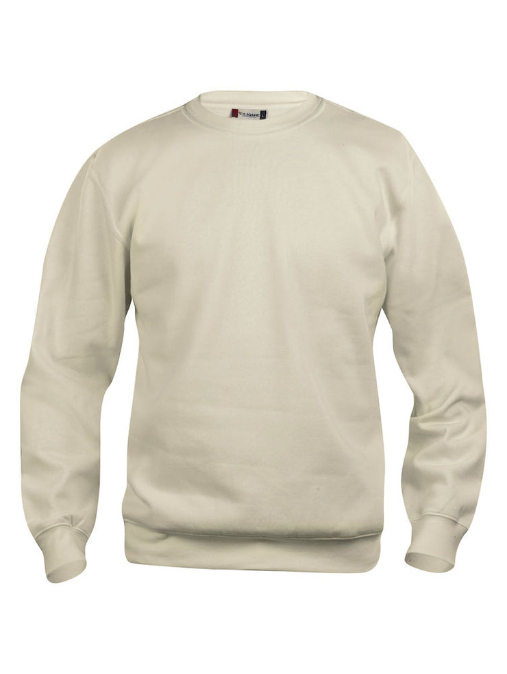 Clique Basic Roundneck art. 021030 Light Khaki