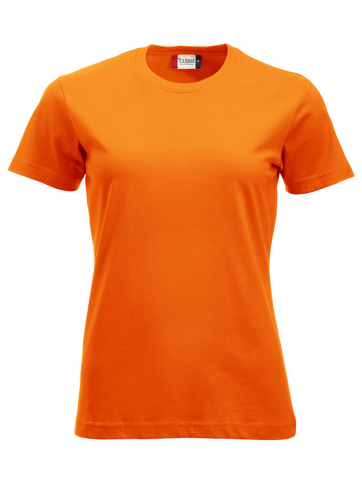 Clique New Classic-T Ladies art. 029361 Visibility Orange