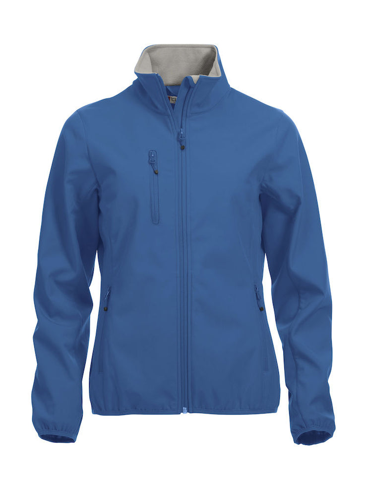 Clique Basic Softshell Jacket Ladies art. 020915 Royal Blue