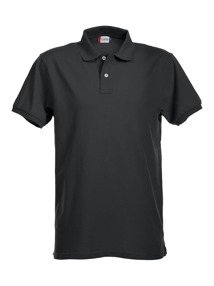 Clique Stretch Premium Polo art. 028240 Black
