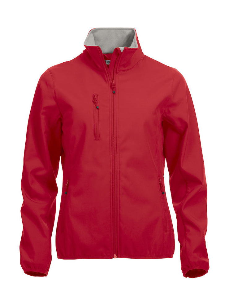 Clique Basic Softshell Jacket Ladies art. 020915 Red