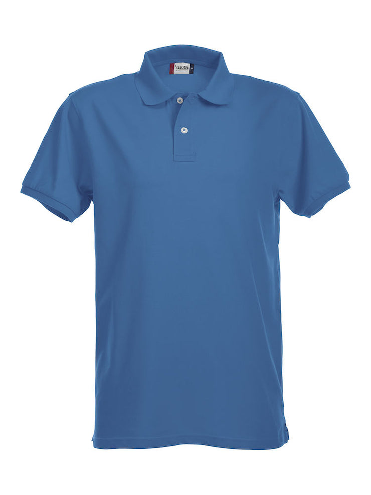 Clique Stretch Premium Polo art. 028240 Royal Blue
