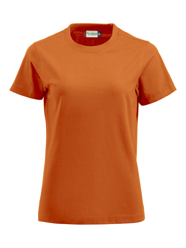 Clique Premium-T art. 029341 Ladies Orange