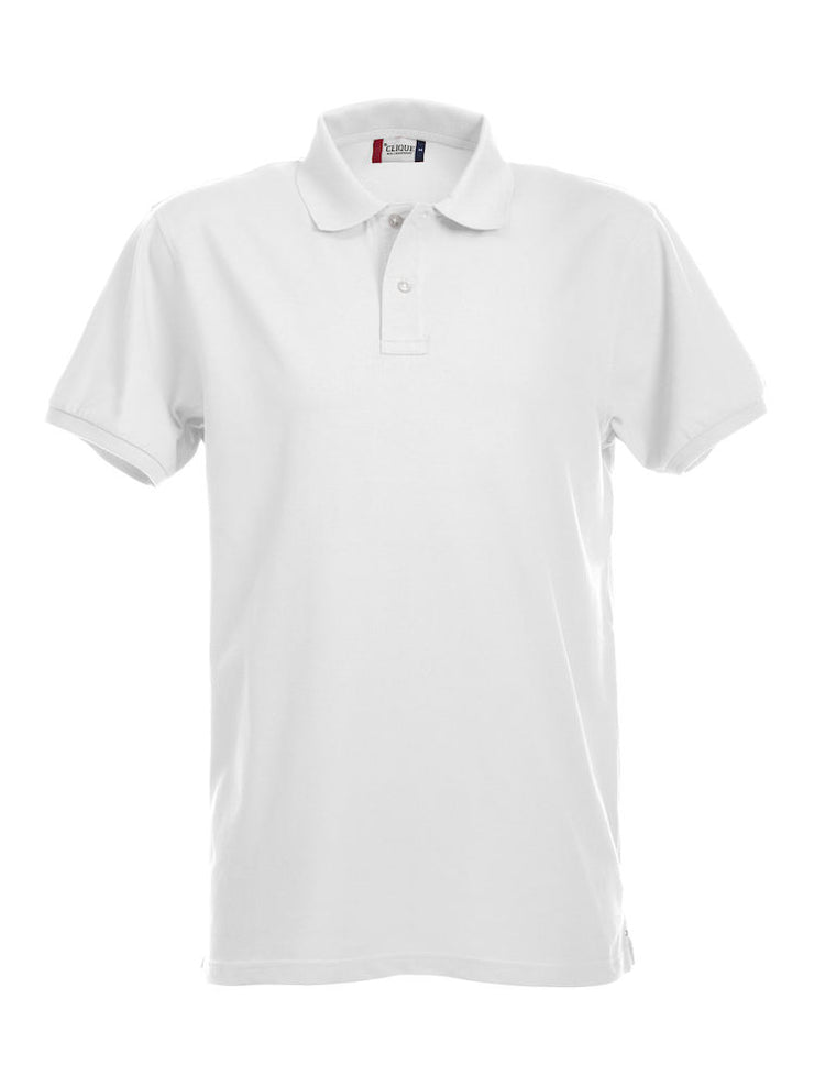 Clique Stretch Premium Polo art. 028240 White