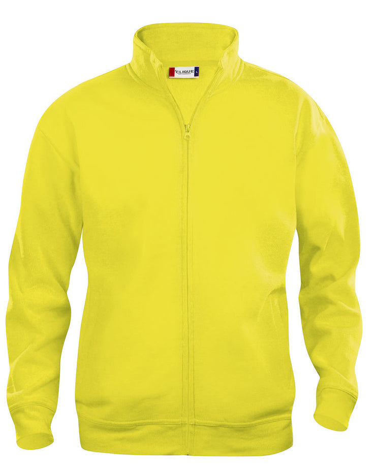 Clique Basic Cardigan Mens art. 021038 Visibility Yellow