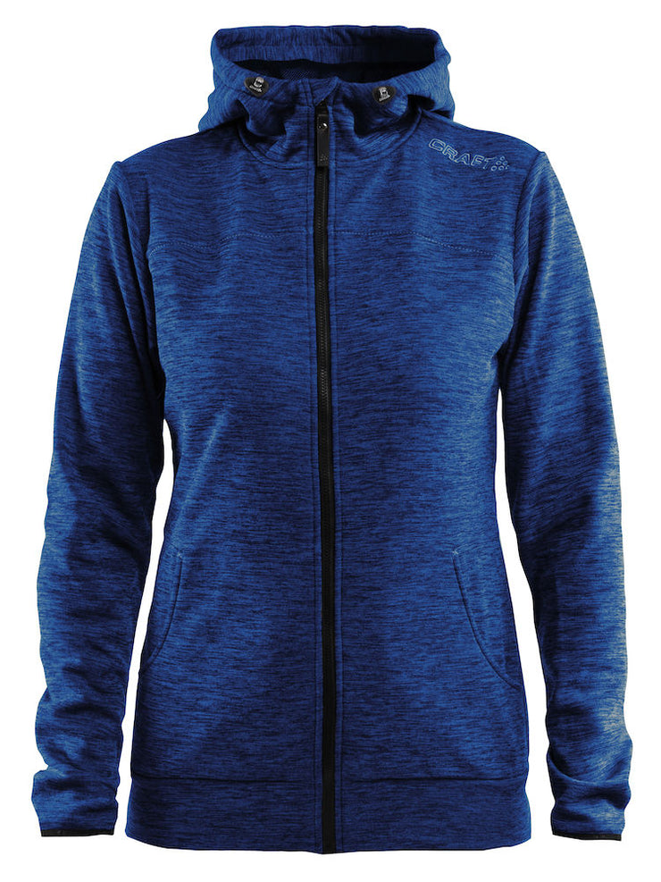 Craft Leisure Full Zip Hood W art.1901693 Deep Melange