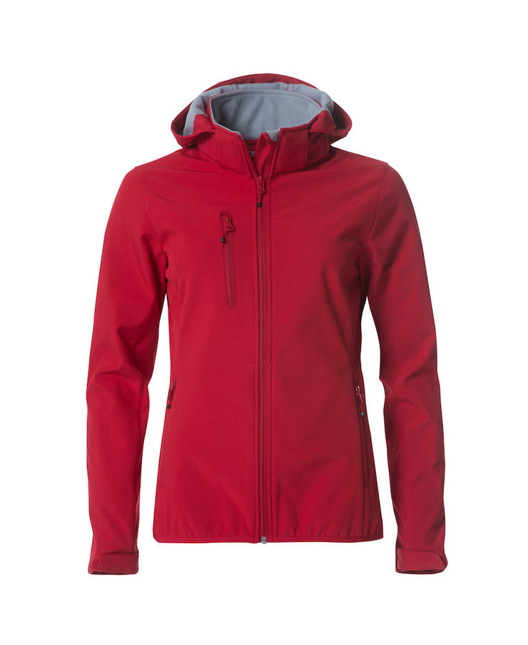 Clique Basic Hoody Softshell Ladies Jacket art. 020917 Red