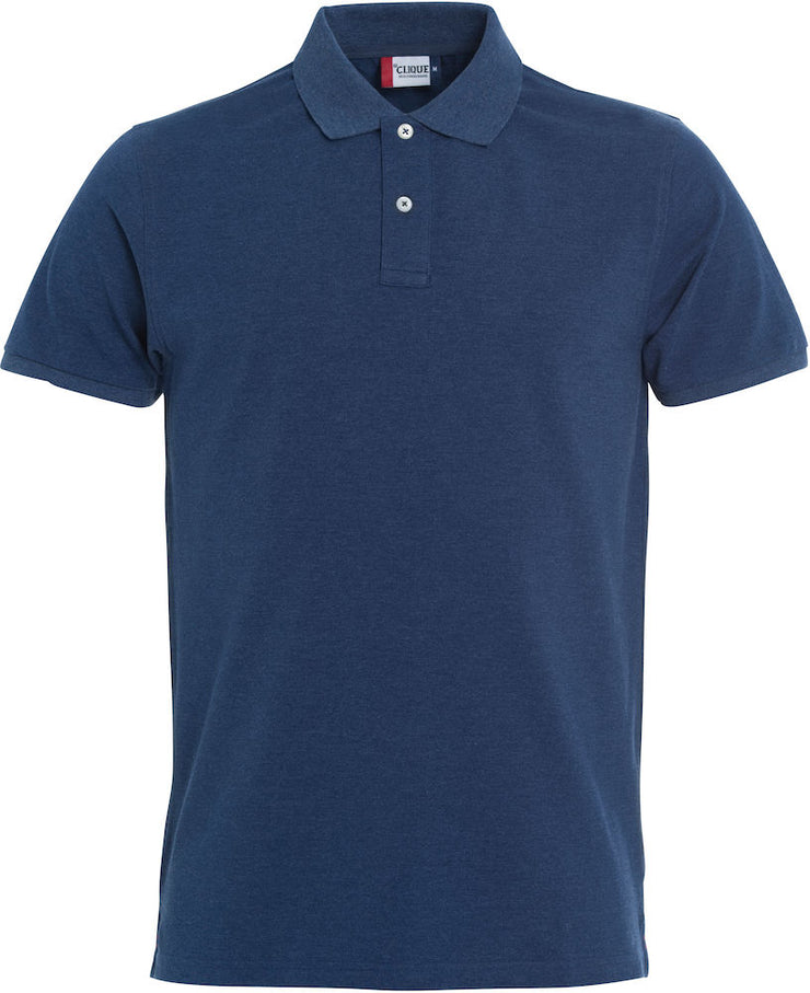 Clique Stretch Premium Polo art. 028240 Blue Melange