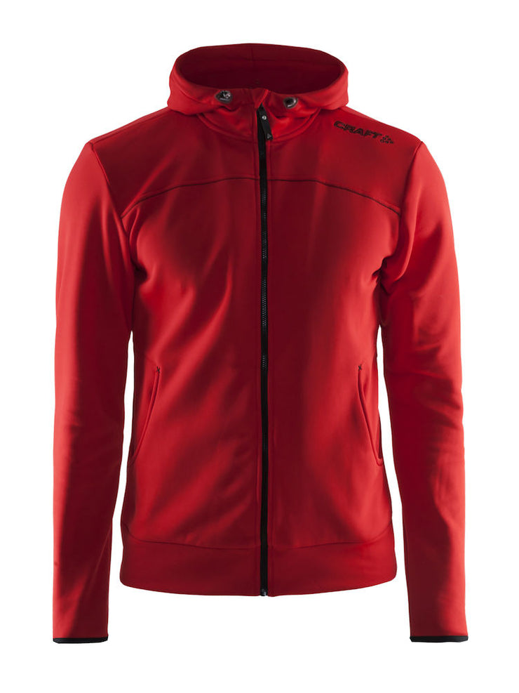 Craft Leisure Full Zip Hood M art.1901692 Bright Red