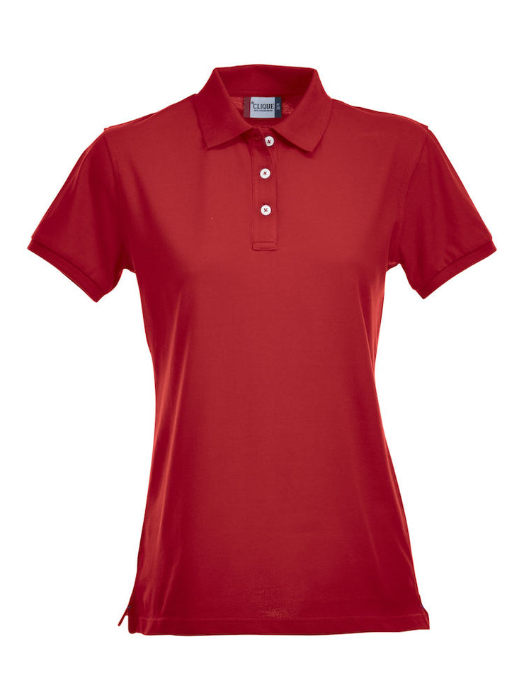 Clique Stretch Premium Polo Ladies art. 028241 Red