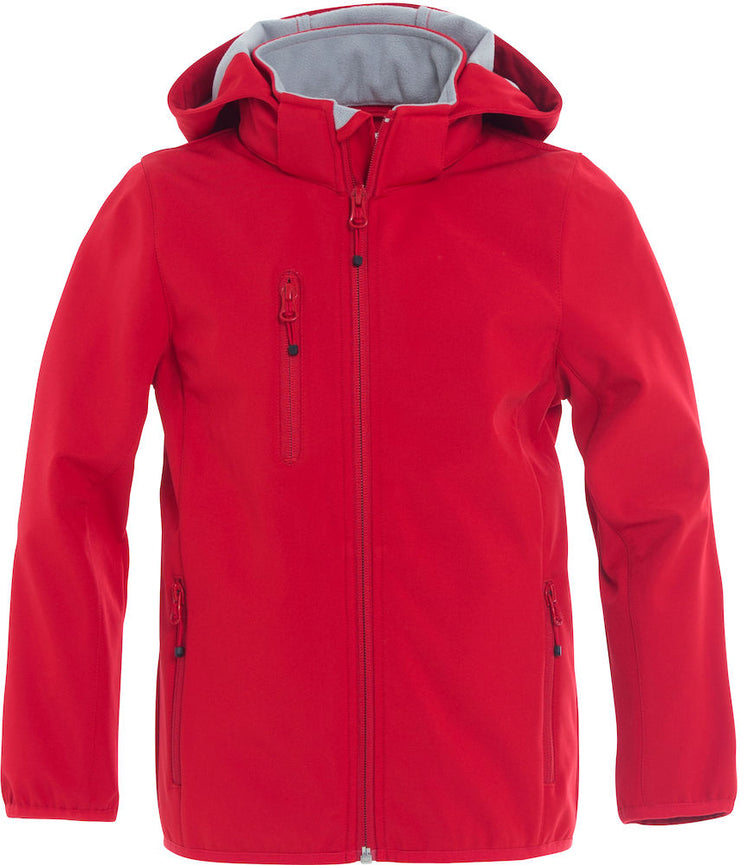 Clique Basic Softshell Jacket Junior art. 020909 Red