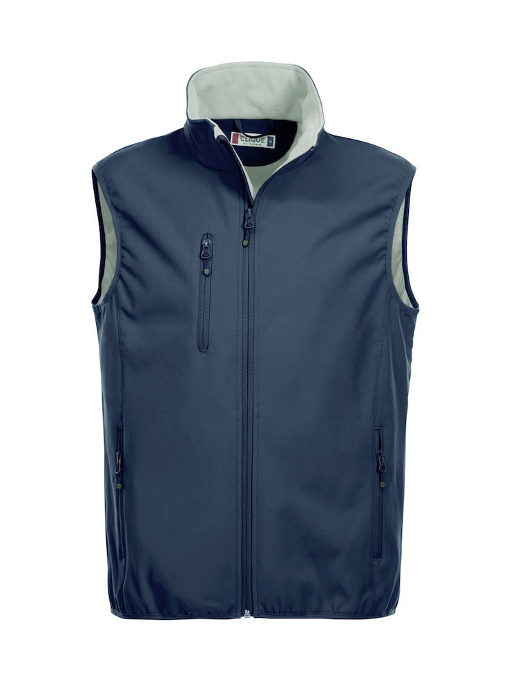 Clique Basic Softshell Vest art. 020911 Dark Navy