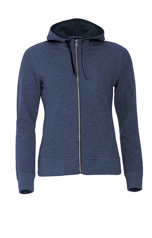 Clique Classic Hoody Full Zip Ladies art. 021045 Blue Melange