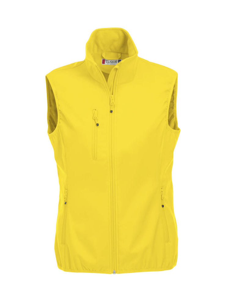 Basic Softshell Vest Ladies art. 020916 Lemon