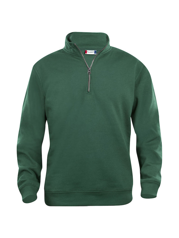 Clique Basic Half Zip art. 021033 Bottle Green