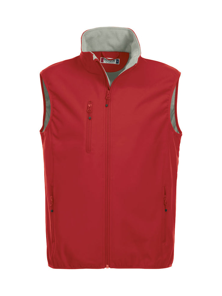 Clique Basic Softshell Vest art. 020911 Red