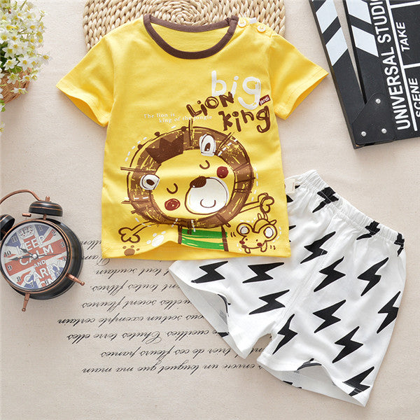 daa3d132c Baby Boy Clothing Set Summer 2018 New Style Infant Clothes – Cool ...