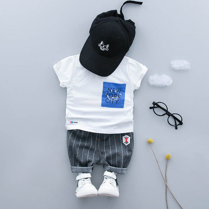 120c045c7243 ... Baby Boy Clothing Set Summer 2018 New Style Infant Clothes -Ballons  Wholesale Supplier- Cool ...